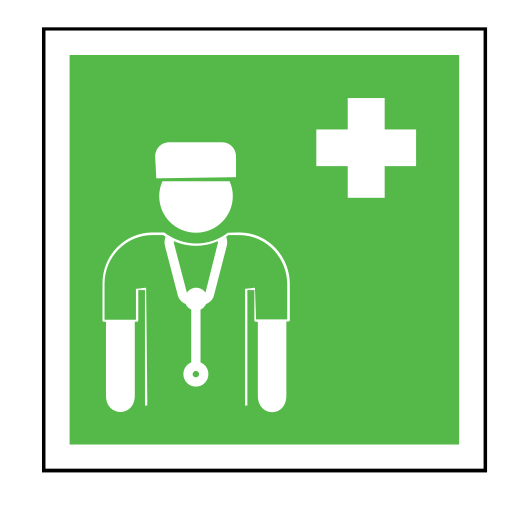 code, doctor, emergency, hospital, sign, sos, surgeon icon
