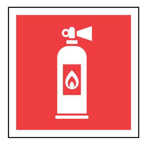 code, emergency, extinguisher, fire, sign, sos icon