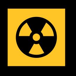 code, danger, emergency, radiation, sign, sos icon