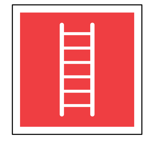 code, emergency, ladder, sign, sos icon
