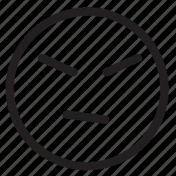 angry, bad, emo icon