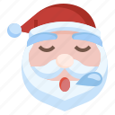 santa, sleepy, christmas, fe, xmas, winter, snow