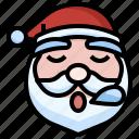 santa, sleepy, christmas, fe, xmas, winter