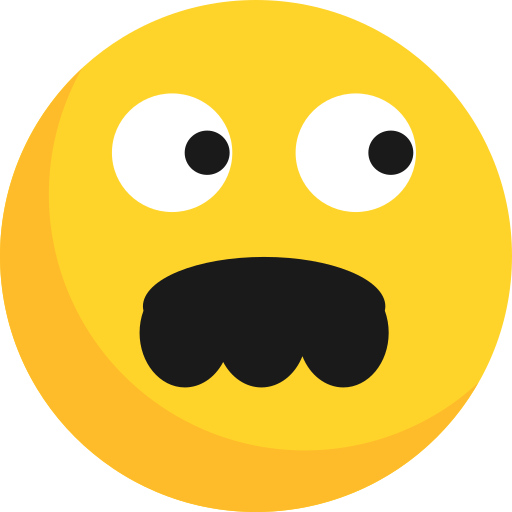 Emoji, emoticon, expression, wonder icon - Free download
