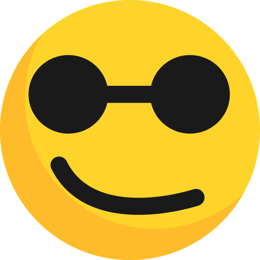 blind, emoticon, emotion, face, smiley icon