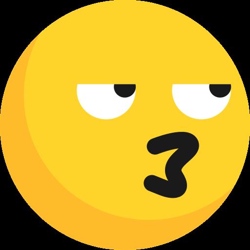 emoji, emoticon, expression, feeling, grumble, strange, sullen icon