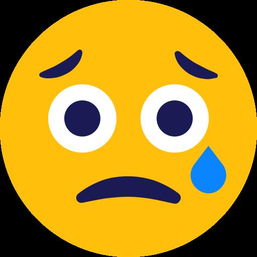 cry, crying, emoji icon