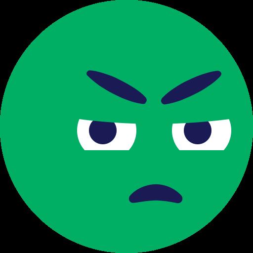 emoji, envy, face icon