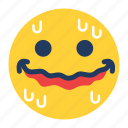 afraid, emoji, emoticon, emotion, face, feeling, scared icon