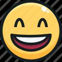 emoji, emotion, emotional, face, haha icon
