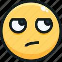 emoji, emotion, emotional, face, sarcastic icon