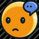 emoji, emotion, emotional, face icon