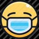 emoji, emotion, emotional, face, mask icon