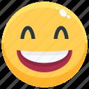 emoji, emotion, emotional, face, feeling, haha icon