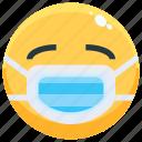 emoji, emotion, emotional, face, feeling, mask icon