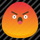 angry, bad, emoji, emotional