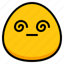 blur, emoji, hang, sick icon