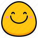 emoji, feeling, happy, smile