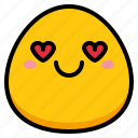 emoji, greatful, heart, love