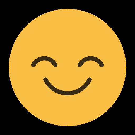 emoji, emoticon, face, feeling, happy, smile icon