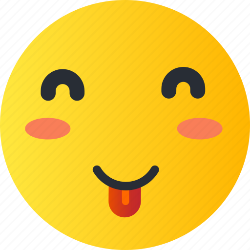 avatar, emoji, emoticons, emotion, face, smiley, tongue icon