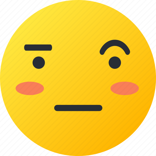 avatar, emoji, emoticons, emotion, face, sarcastic, smiley icon
