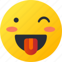 avatar, crazy, emoji, emoticons, emotion, face, smiley icon