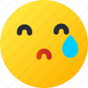 avatar, crying, emoji, emoticons, emotion, face, smiley icon