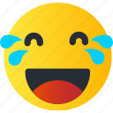 avatar, emoji, emoticons, emotion, face, laughing, smiley