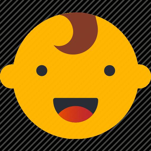 avatar, boy, emoji, emoticons, emotion, face, smiley icon