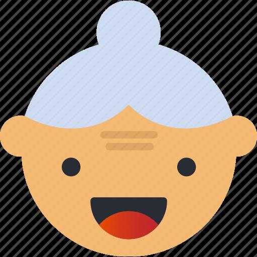 Avatar, emoji, emoticons, emotion, face, grand, smiley icon - Download on Iconfinder