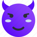 avatar, devil, emoji, emoticons, emotion, face, smiley
