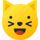avatar, cat, emoji, emoticons, emotion, face, smiley