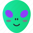 alien, avatar, emoji, emoticons, emotion, face, smiley