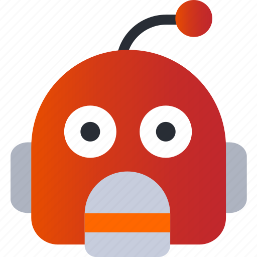 Avatar, emoji, emoticons, emotion, face, robot, smiley icon - Download on Iconfinder