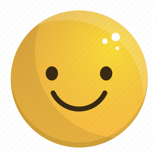 emoji, emotion, face, feeling, smile icon