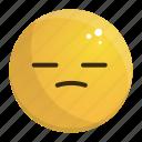 bored, emoji, emotion, face, feeling, tired