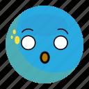 emoji, emotion, face, feeling, happy, scare, smile icon