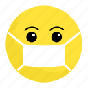 emoji, face, feeling, ill, sick