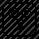 emoji, emoticon, face, happy, kissing, smiley, sticker icon