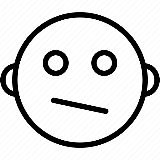 Emoticon, face, hopeless, smiley, wondering icon - Download on Iconfinder