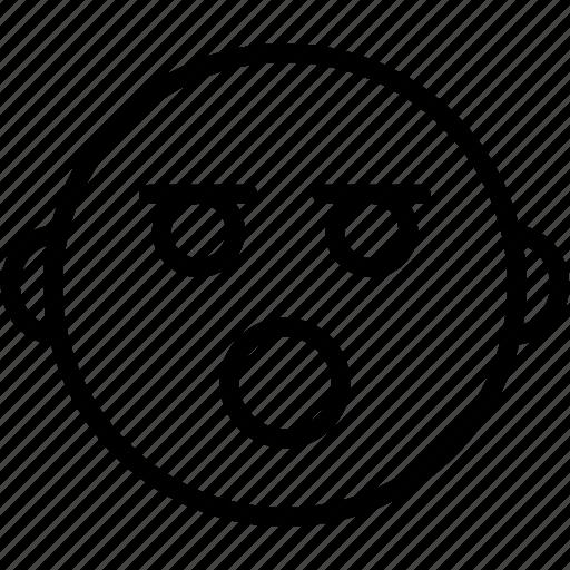 Emoticon, emoji, emotion, face, sad icon - Download on Iconfinder