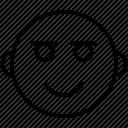 Emoticon, emoji, face, happy, smiley icon - Download on Iconfinder