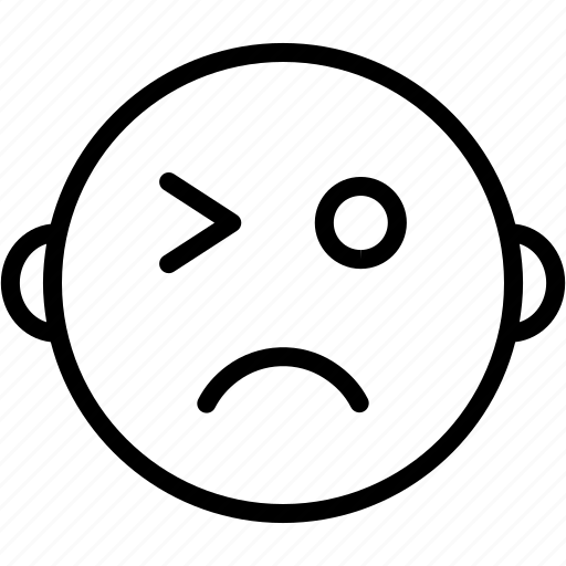 Emoticon, cheeky, expression, happy, smiley, wink icon - Download on Iconfinder
