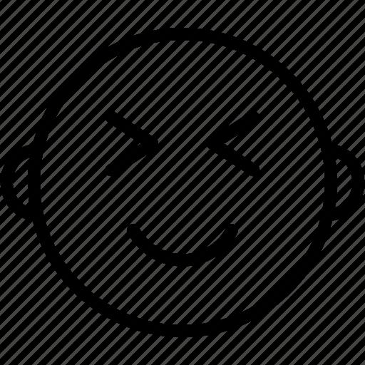 Emoji, emoticons, smiley, shocked, face icon