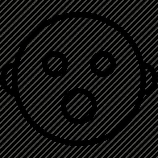 Emoji, emoticons, face, shocked, smiley icon - Download on Iconfinder
