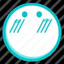 bashful, emoji, face, reticent, shy, timid icon