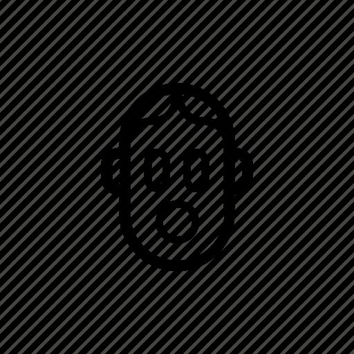 Emoji, emotion, exclamation, surprise, wow, emoticon, mood icon - Download on Iconfinder