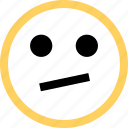 emoji, emotion, face, reaction, thinking, thought icon