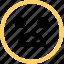 emoji, emotion, face, reaction, sad icon